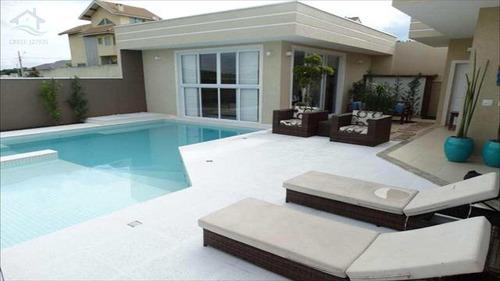 Casa De Condomínio Com 3 Dorms, Condomínio Figueira Garden, Atibaia - R$ 1.9 Mi, Cod: 344 - V344