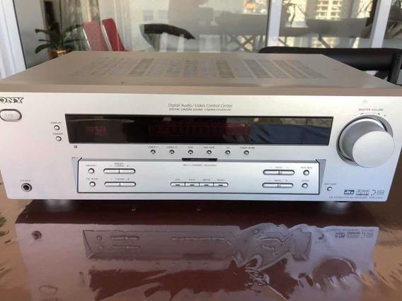 Receiver Sony Str-k751p Home Theater Prata - Perfeito Estado