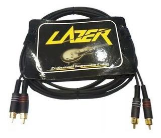 Cable Lazer Rca-rca 3mts 091/3