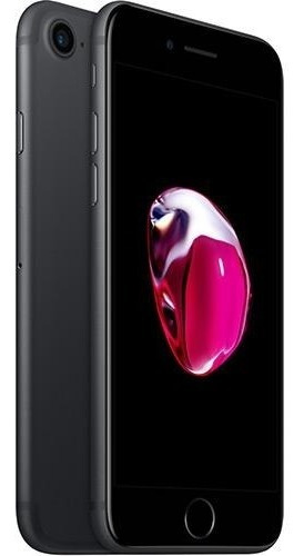 iPhone 7 32gb Preto Matte Tela 4.7  Ios 10 4g Câmera 12mp