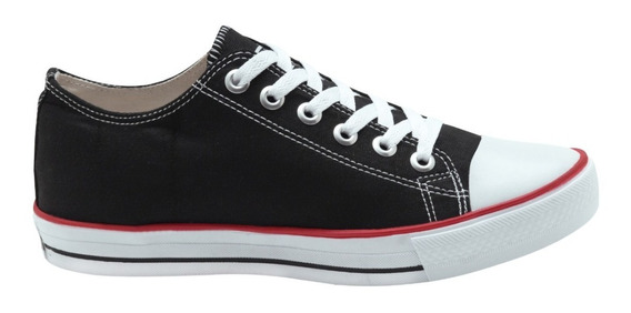 Tênis All Star Converse Material Lona Do 34/43 Preto Allstar