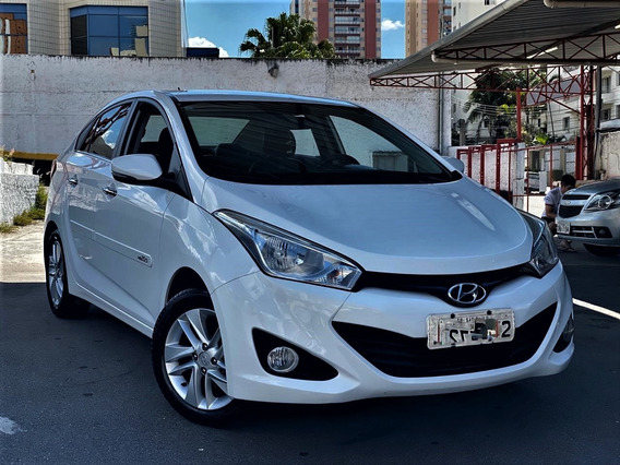 Hyundai Hb20s 2015 1.6 Premium + Couro
