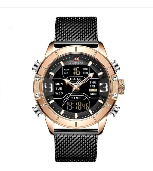 Relógio Masculino Naviforce Esportivo Digital Laçamento