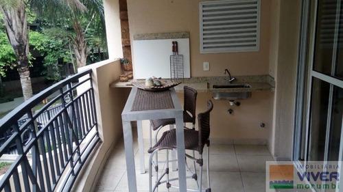 Imagem 1 de 14 de Apartamento Mobiliado - Nm4325