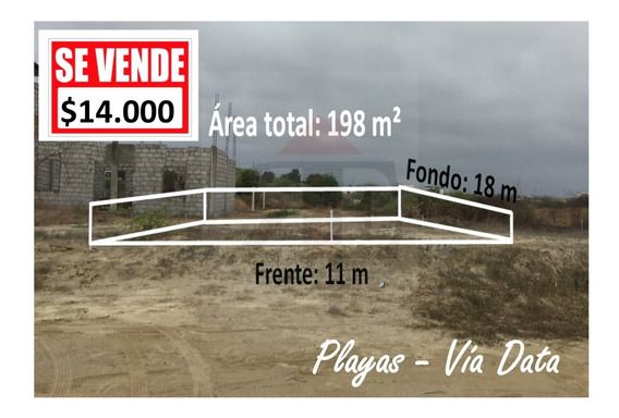 Terrenos En Venta (coralesa) Vía Data Posorja, Km 2.5