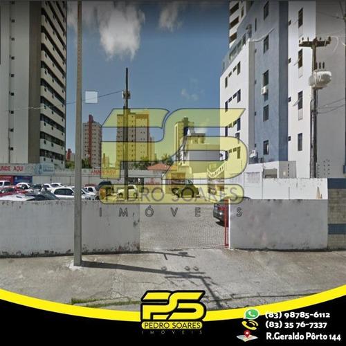 Terreno À Venda, 360 M² Por R$ 900.000,00 - Manaíra - João Pessoa/pb - Te0091