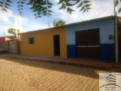 Casa Com Ponto Comercial A Venda Em São Miguel Do Gostoso