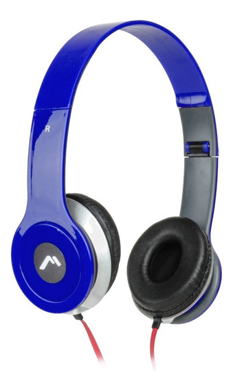 Audifonos Diadema Mitzu 3.5mm Pc Celular Tablet Mp3 Colores