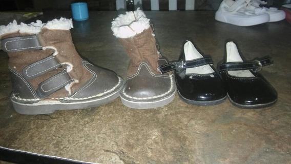 Combo Lote Calzado Nena Botas Y Zapatos