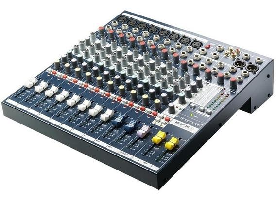 Mesa De Som Soundcraft Efx8 / K C/efeitos Lexicon