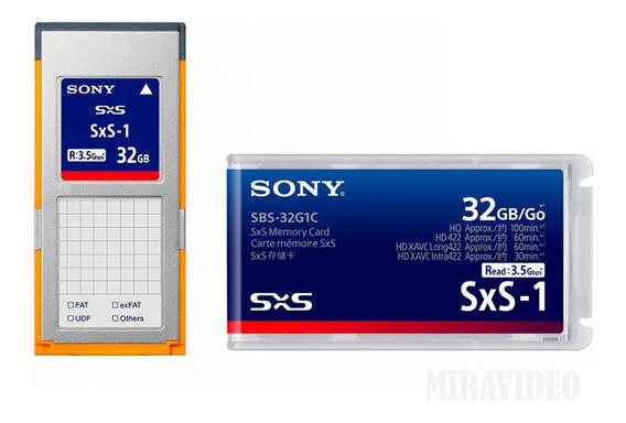Cartão De Memória Sxs-1 Sony 32gb (sbs-32g1c) Ultimo Modelo