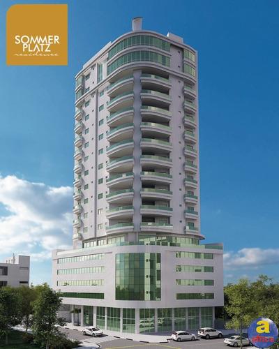 Imagem 1 de 22 de Apartamento 3 Suítes 3 Vagas De Garagem No Centro Em Balneário Camboriú/sc - Imobiliária África - Ap00484 - 69799663