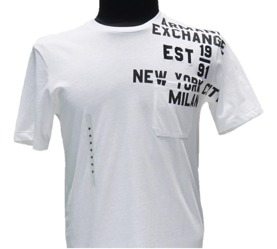 Playera Armani Exchange New York City - Milan