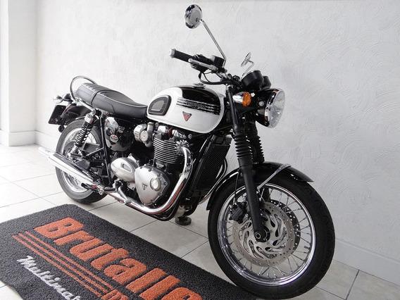 Triumph Bonneville T 120 Branca
