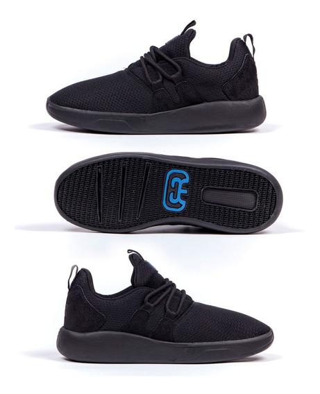 Tênis Hocks Skate Galáctica - Black/blue + Frete Grátis