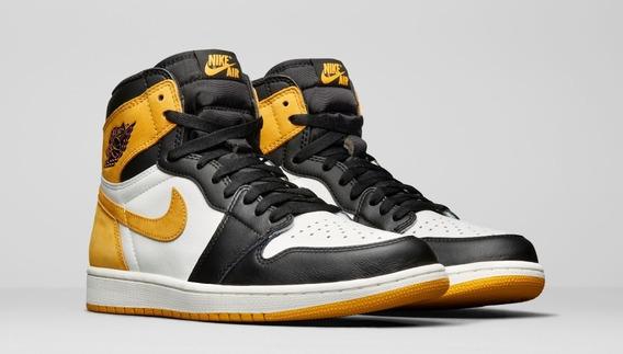 Nike Air Jordan 1 Retro High Og Yellow Ochre Original