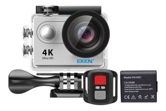 Câmera De Ação Eken H9r 4k Wifi Controle + Bateria Extra Nf