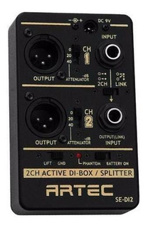 Caja Directa Activa / Splitter 2 Canales Artec Se-di2