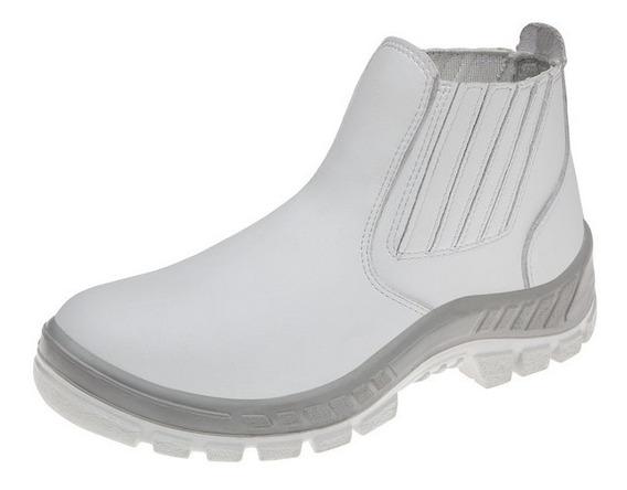 Sapato De Segurança Para Cozinheiro Microfibra 12x Sem Juros