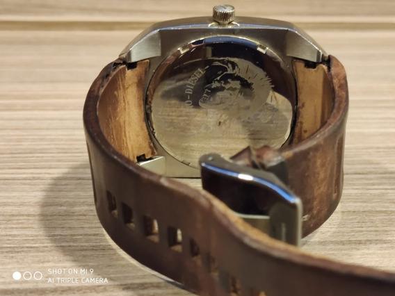 Relógio Diesel Marrom