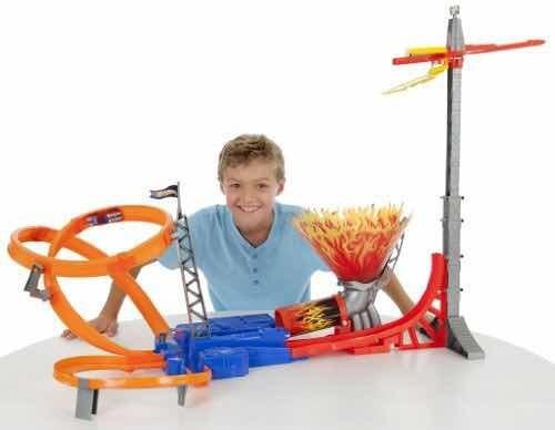 Hotwheels Pista Con Carros