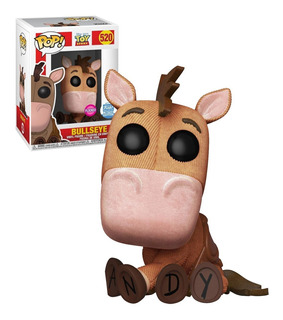Funko Pop - Toy Story Bullseye #520 (flocked) Funkoshop Ex