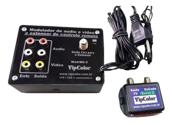 Extensor De Controle Remoto Com Modulador Rf Vipcolor