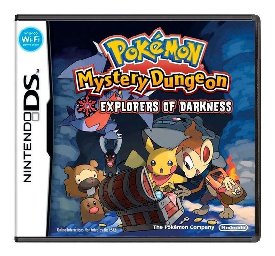 Pokémon Mystery Dungeon Explorers Of Darkness Ds Física