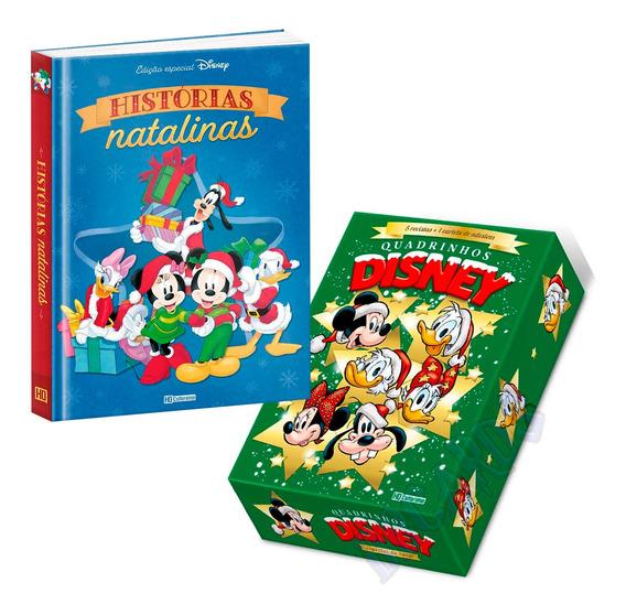 Quadrinhos Disney Especial Natal Box + Capa Dura Culturama