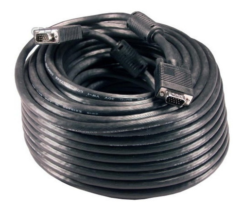 Cable Vga Macho A Macho Para Monitores 30 Metros De Largo