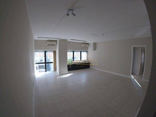 Sala Comercial De 92 M² - Centro - Florianópolis/sc - Sa0861