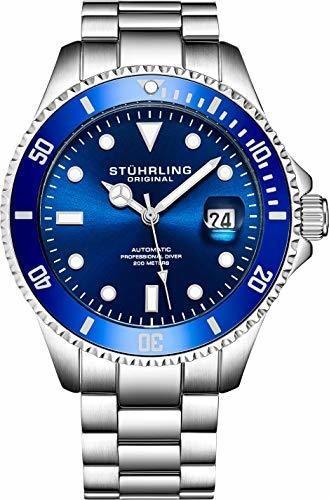 Stuhrling Original - Reloj De Buceo Automático Para Hombre (
