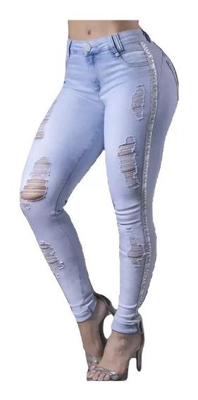 Calça Modela Bumbum Pit Bull Pitbull Jeans Original Pit Bull