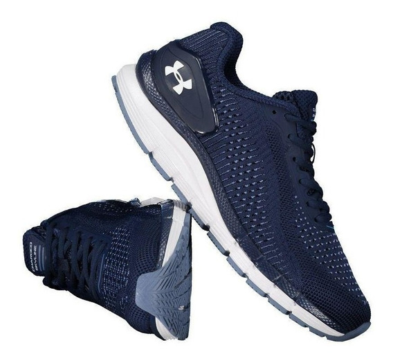 Tênis Under Armour Charged Skyline 3023413-400 Marinho
