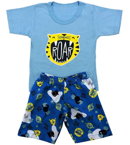 Roupa Infantil Kit 3 Conjunto Menino Masculino Atacado