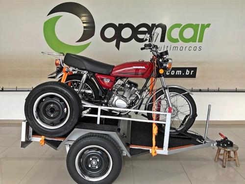 Honda Cg 125 Para Colecionadores + Carretinha