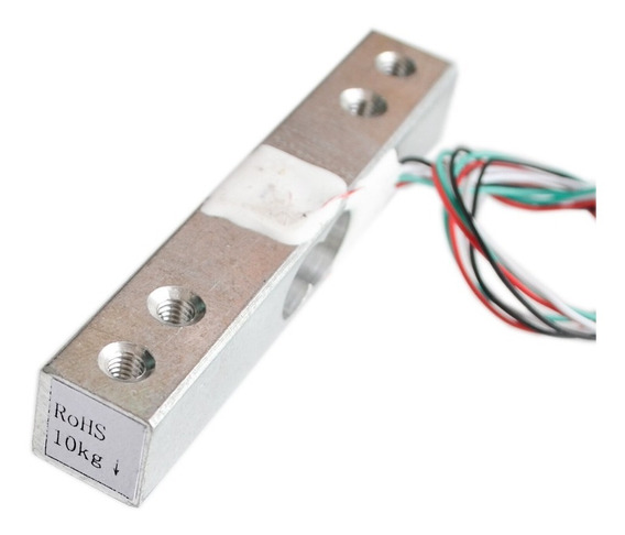 Celula De Carga 20kg Sensor De Peso Arduino - 0112
