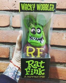 Funko Wacky Wobbler Rat Fink Nuevo Original En Stock