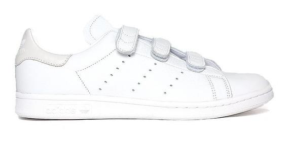 Tenis adidas Stan Smith Cf Blanco Broche 100% Originales