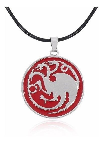 Colar Targaryen Daenerys Game Of Thrones Promoção