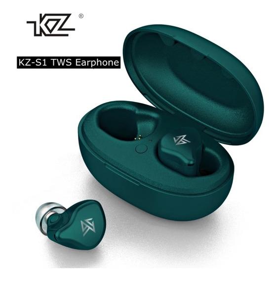 Fone De Ouvido Tws Kz S1 Verde