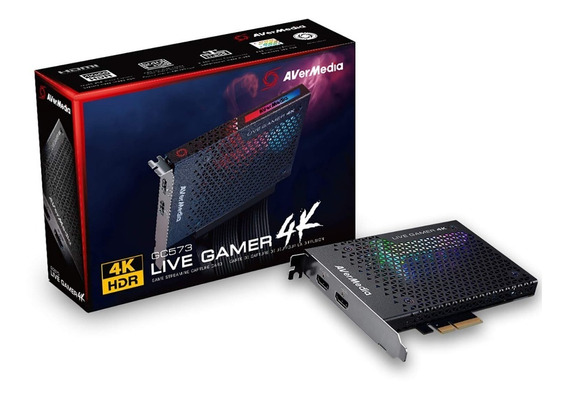 Capturadora Gamer Avermedia Gc573 Live Gamer 4k