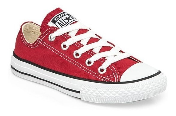 Zapatillas Converse All Star Ox Kids Rojo- Sagat Deportes