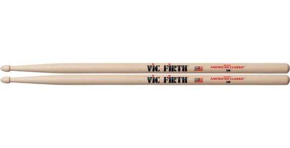 Baqueta Vic Firth American Classic 5b Wood Tip C/ Nfe