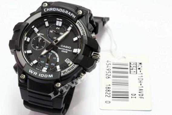 Reloj Casio Chronograf 52mm Hombre Resistencia Agua100m