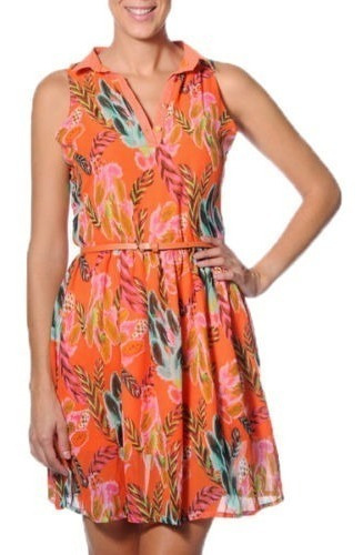 Vestido Smash! Barcelona Naranja Talle M