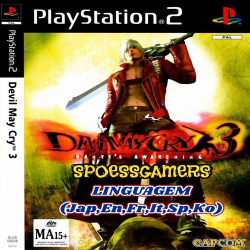 Devil May Cry 3 Ps2 Patch Para Ps2 .