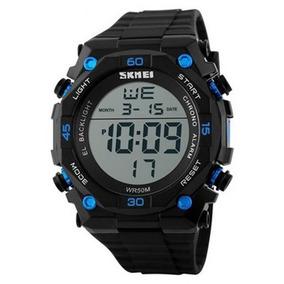 Relógio Masculino Skmei Digital 1130 - Preto/azul