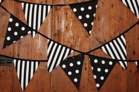 Banderines Guirnaldas Tela 17 X 20 Cm. Fiestas,dormitorios