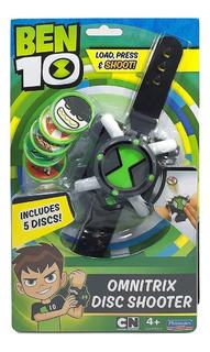 Reloj Ben 10 Omnitrix Juguete Lanzador De Discos Original